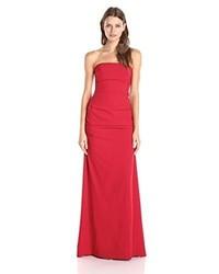 Vestido de Noche Rojo de Nicole Miller