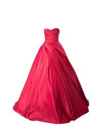 Vestido de Noche Rojo de Romona Keveza