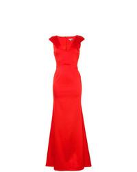 Vestido de Noche Rojo de Zac Zac Posen