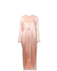 Vestido de noche rosado de Fleur Du Mal