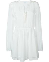 Vestido de seda blanco de P.A.R.O.S.H.