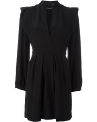 Vestido de Seda Negro de Isabel Marant