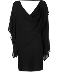 Vestido de seda tejido negro de Gareth Pugh