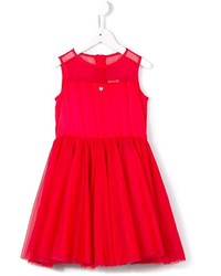 Vestido de tul rojo de Armani Junior