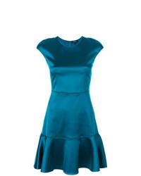 Vestido de vuelo azul de Theory