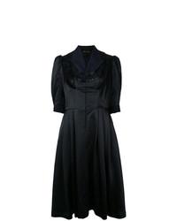Vestido de vuelo con adornos negro de Comme Des Garçons Vintage