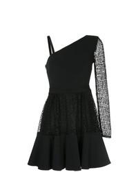 Vestido de vuelo negro de David Koma