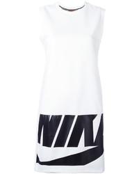 Vestido estampado blanco de Nike