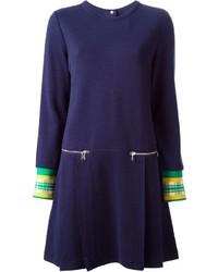 Vestido jersey azul marino de Marc by Marc Jacobs