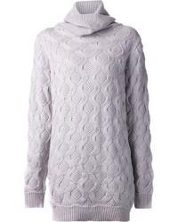 Vestido jersey de punto gris de Marc Jacobs
