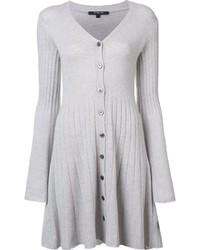 Vestido jersey gris de Derek Lam