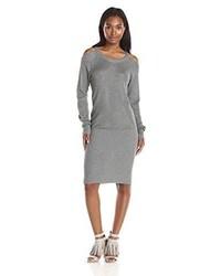 Vestido jersey gris de Jessica Simpson