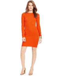 Vestido jersey naranja