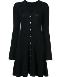 Vestido Jersey Negro de Derek Lam