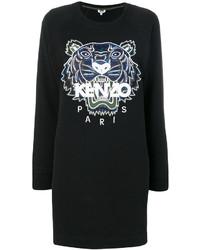 Vestido Jersey Negro de Kenzo