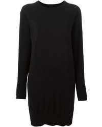 Vestido jersey negro de Maison Margiela