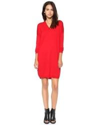 Vestido jersey rojo original 10228216