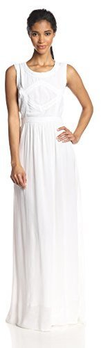 Vestido largo blanco