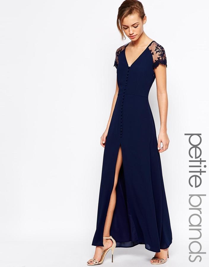Con que combinar un vestido azul oscuro