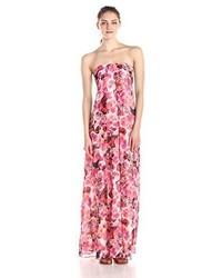 Vestido Largo de Flores Rosa de Sam Edelman