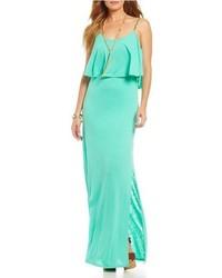 Comprar Un Vestido Largo En Verde Menta Elegir Vestidos