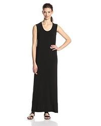 Vestido largo negro de KAMALIKULTURE