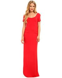 Vestido largo rojo original 1400595