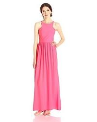 Vestido Largo Rosa de Amanda Uprichard