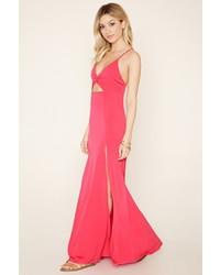 Vestido Largo Rosa de Forever 21