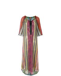 Vestido largo tejido en multicolor de MISSONI MARE