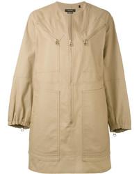 Vestido marrón claro de Isabel Marant