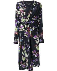 Vestido Midi de Seda Negro de Isabel Marant