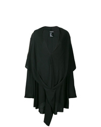 Vestido midi negro de Ann Demeulemeester