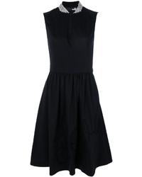 Vestido midi negro de Love Moschino