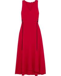 Vestido midi rojo original 9932818