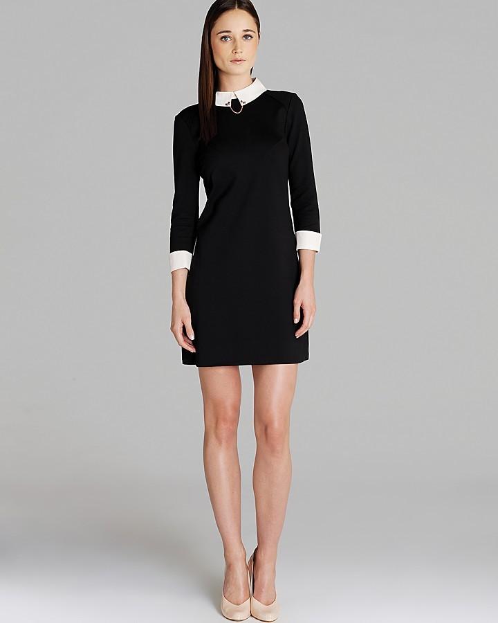 Combinacion de zapatos para vestido negro con blanco