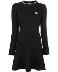 Vestido negro de Kenzo