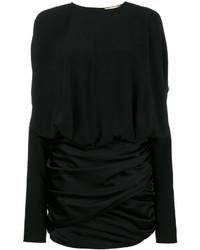 Vestido negro de Saint Laurent