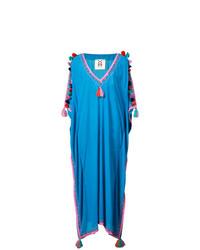 Vestido playero azul de Figue