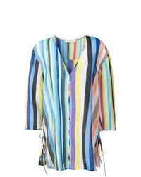 Vestido playero en multicolor de Dvf Diane Von Furstenberg