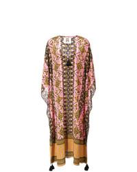 Vestido playero rosado de Figue