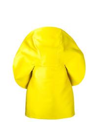 Vestido recto amarillo de Isabel Sanchis