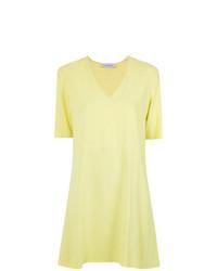 Vestido recto amarillo de Olympiah