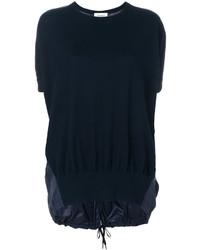 Vestido recto azul marino de DKNY