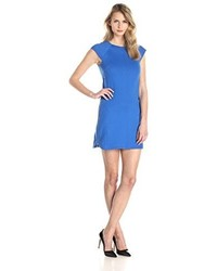 Vestido recto azul de Laundry by Shelli Segal