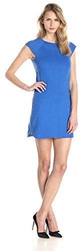 Vestido recto azul de Laundry by Shelli Segal
