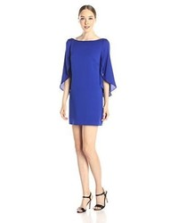 Vestido recto azul de Milly
