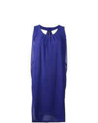 Vestido recto azul de Minimarket