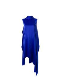 Vestido recto azul de SOLACE London