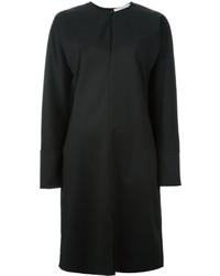 Vestido recto de lana negro de Givenchy